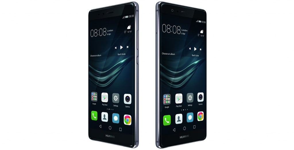 Huawei P9 angolazione