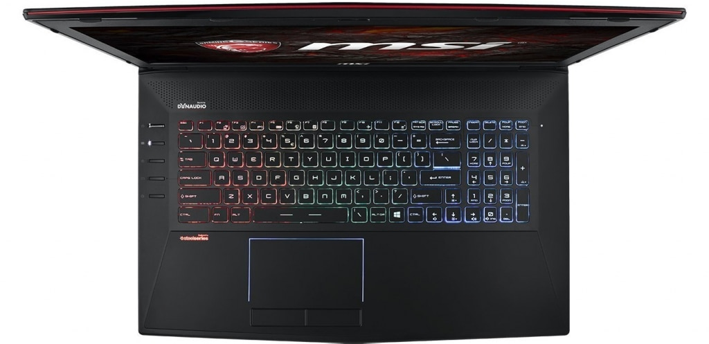 MSI GT72VR 6RD Dominator frontale