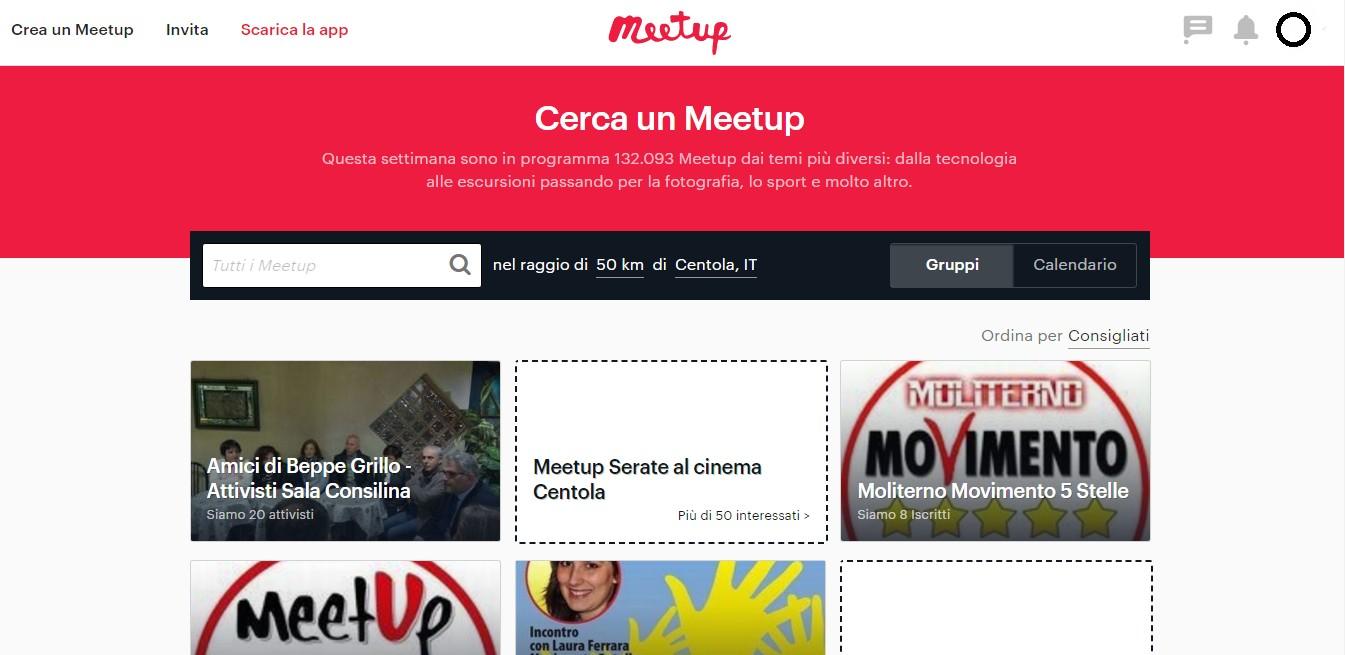 cerrae un Meetup