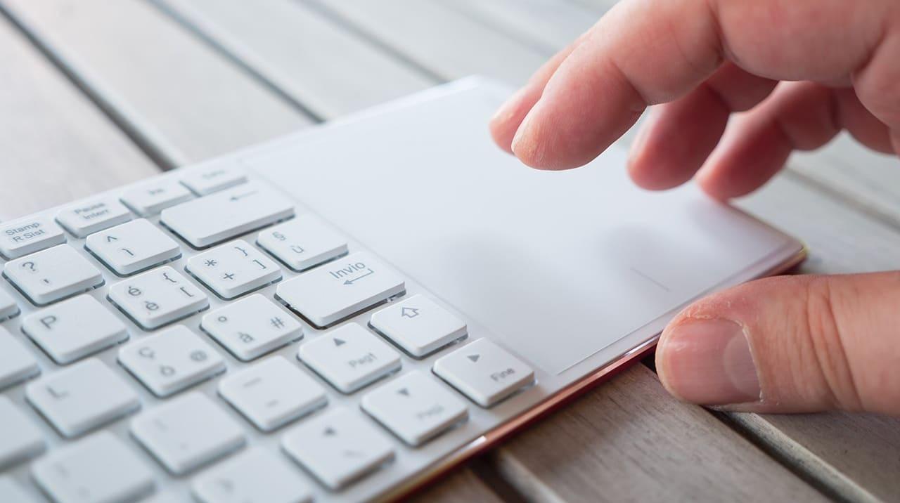 Trackpad della tastiera