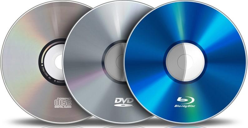 tipologia cd dvd