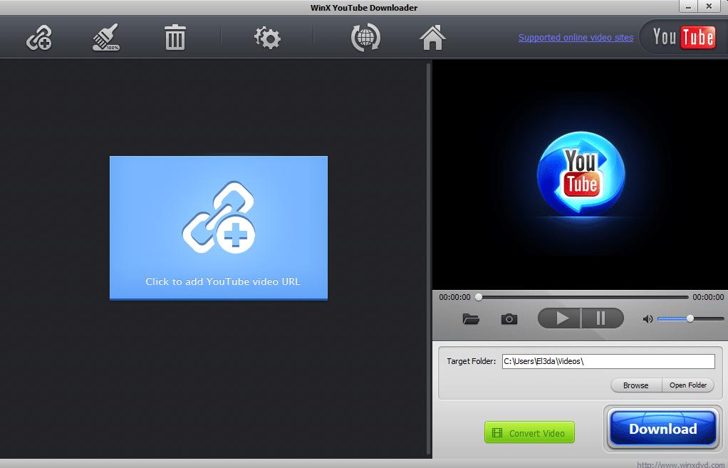 Scaricare video con WinX Youtube Downloader