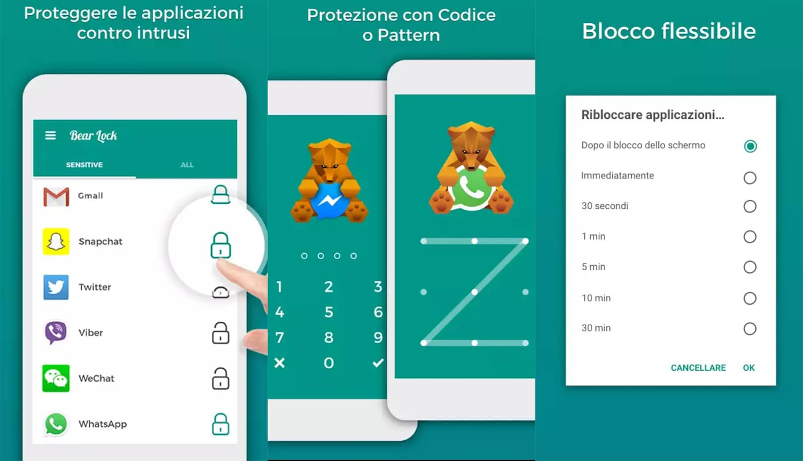 bear lock app
