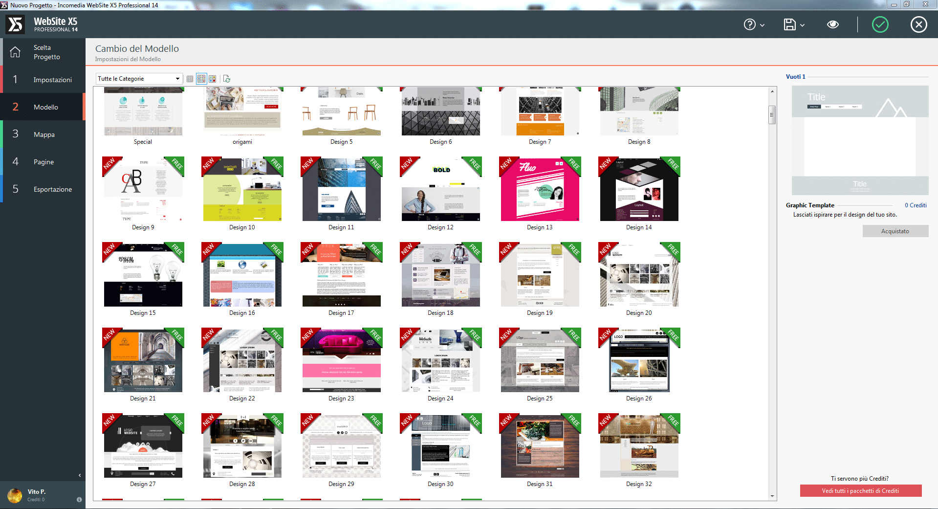 programmi per creare siti web professionali