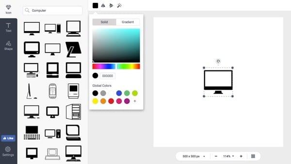 icone e forme designevo