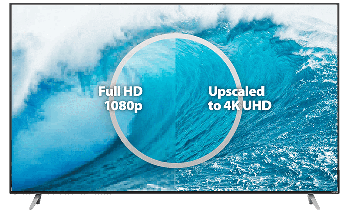 upscaling in 4k