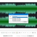 Free Audio Editor dividere traccia audio