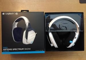 Recensione Headset Logitech G933: Artemis Spectrum Snow