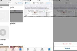 file eliminati iphone