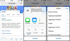 action extension su iphone