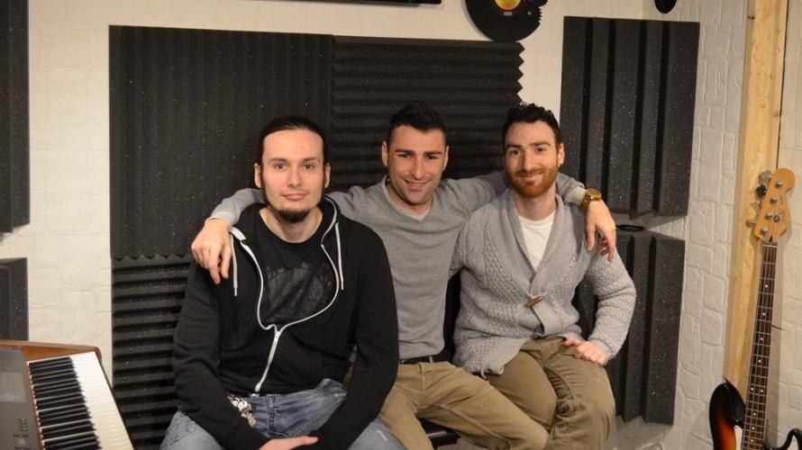i tre fondatori Kleisma