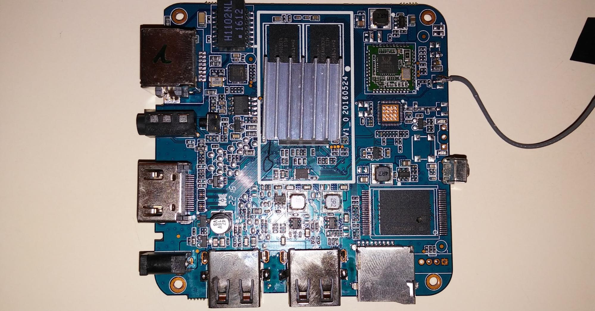 hardware del tv box