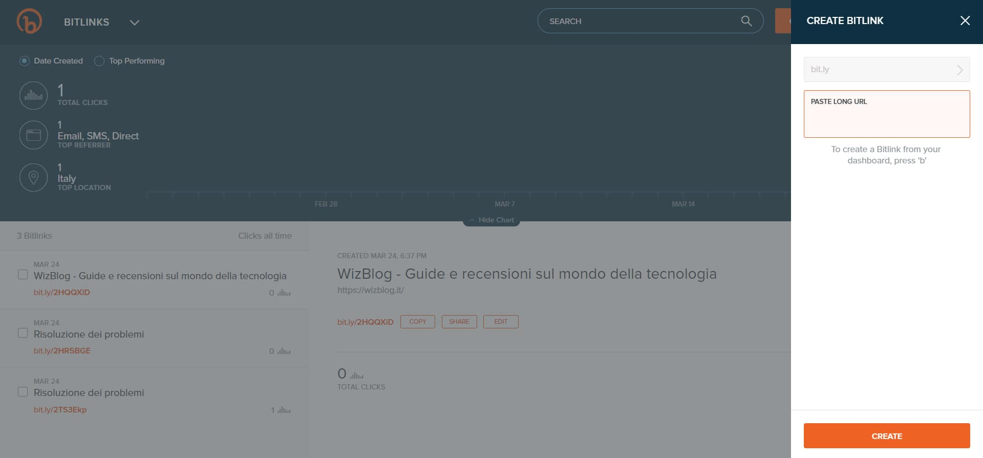 sito Bitly