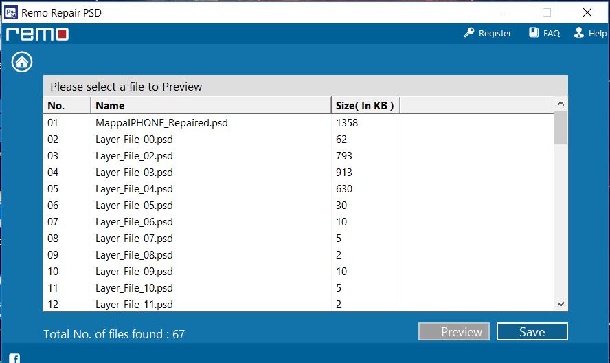 come funziona Remo Repair PSD