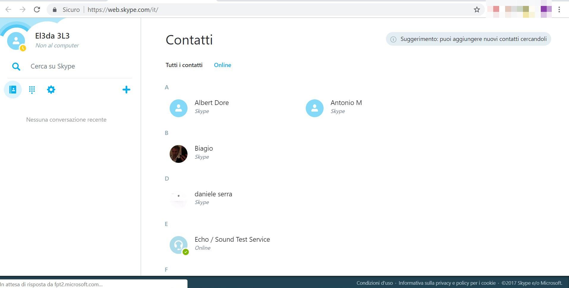 Come faccio a collegare Skype