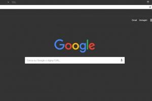 tema scuro google chrome