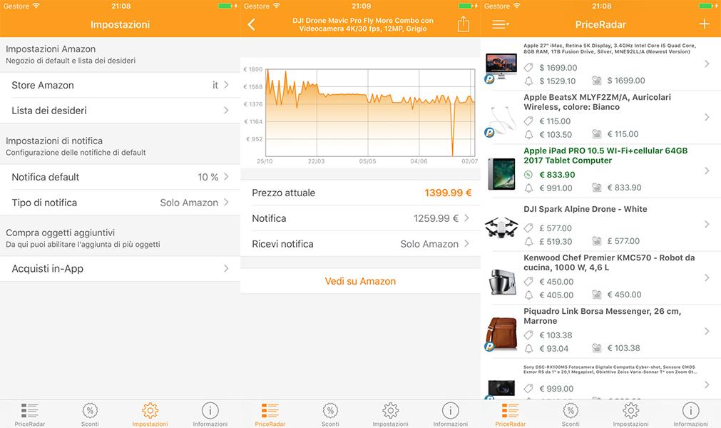 app PriceRadar