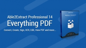 Able2Extract Pro 14 software