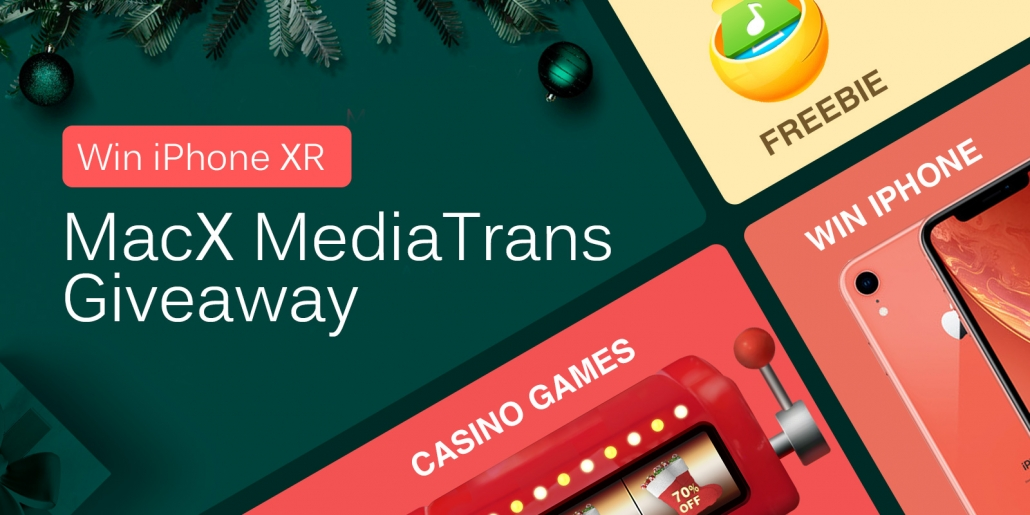 MacX MediaTrans concorso con premi in regalo