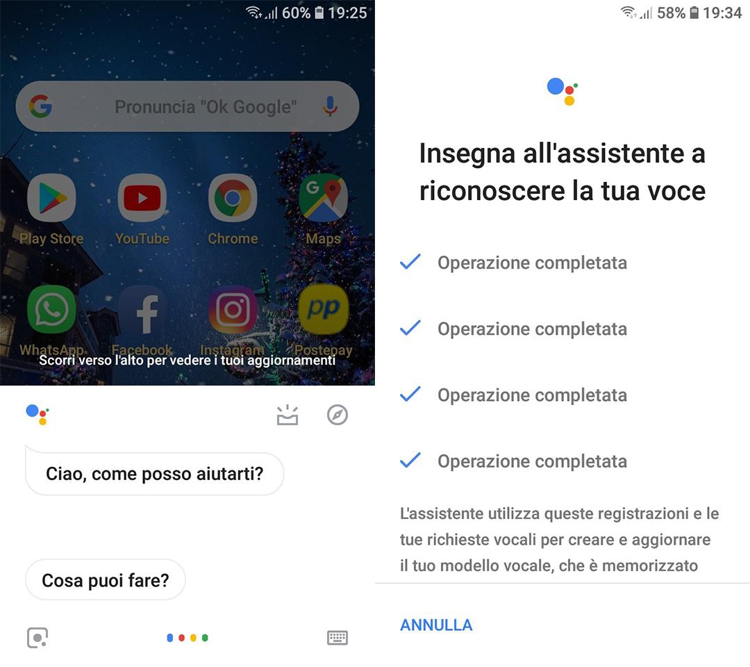 come funziona Assistente Google