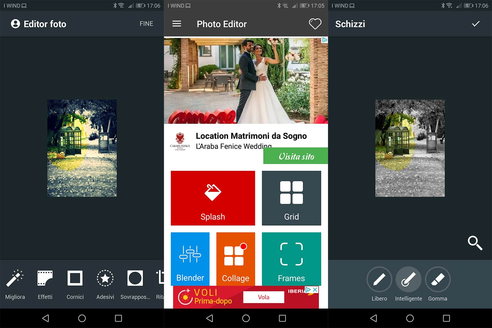 app Color Splash Effetto