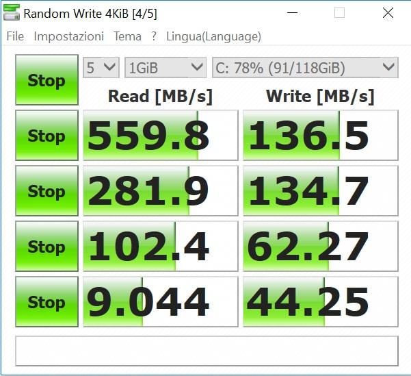 Come testare la velocità di un SSD o HDD