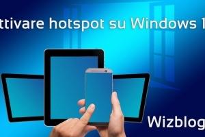hotspot windows 10