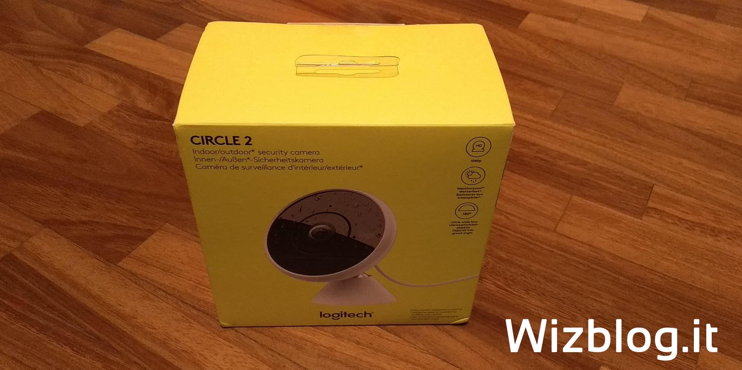 confezione Logitech Circle 2