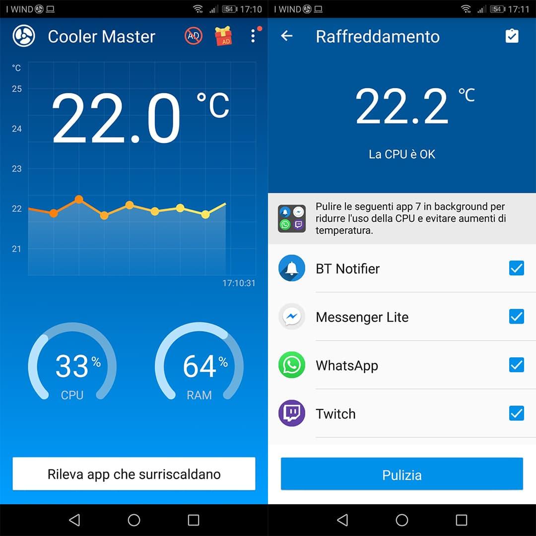 applicazione CPU Cooler Master
