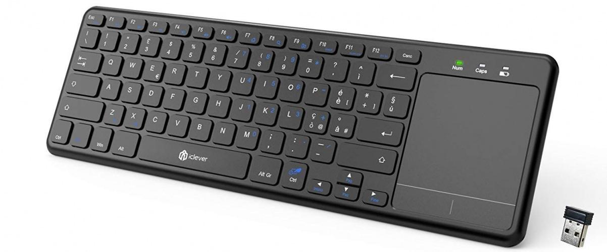 iclever IC-GK01 tastiera Wireless