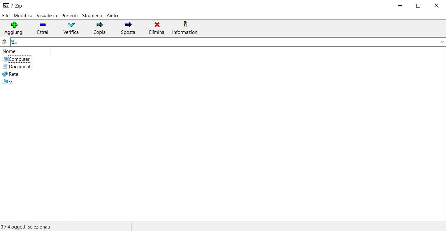 Migliore alternativa a WinRAR e WinZip | WizBlog