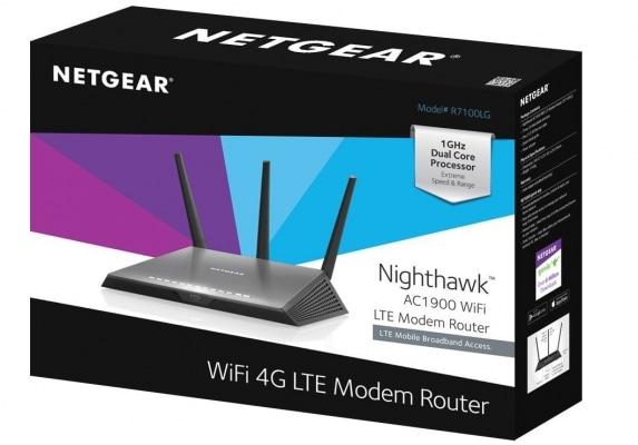 pacco Netgear R7100LG