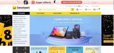 Gearbest siti cinesi per acquisti online