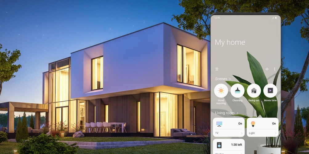 Applicazione Samsung SmartThings