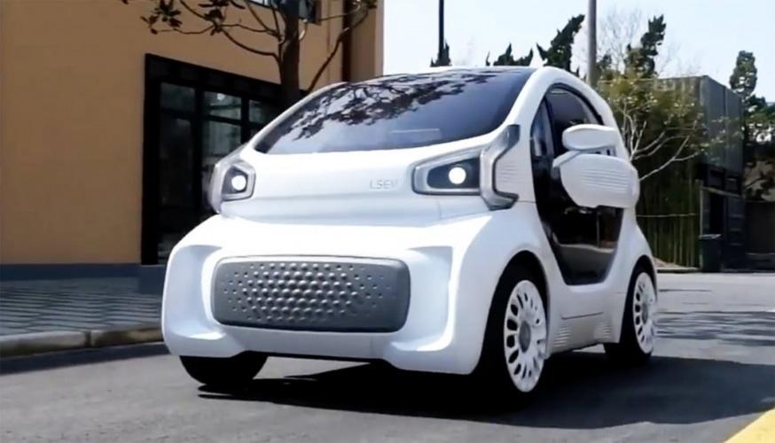 XEV LSEV Auto elettriche stampate in 3D