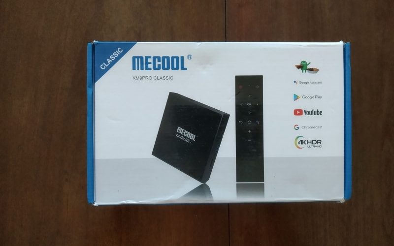 Unboxing MECOOL KM9 Pro