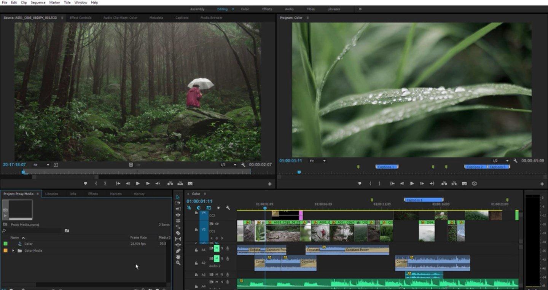 Adobe Premiere Pro per windows e mac