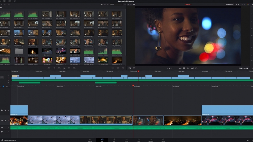 DaVinci Resolve per montare video
