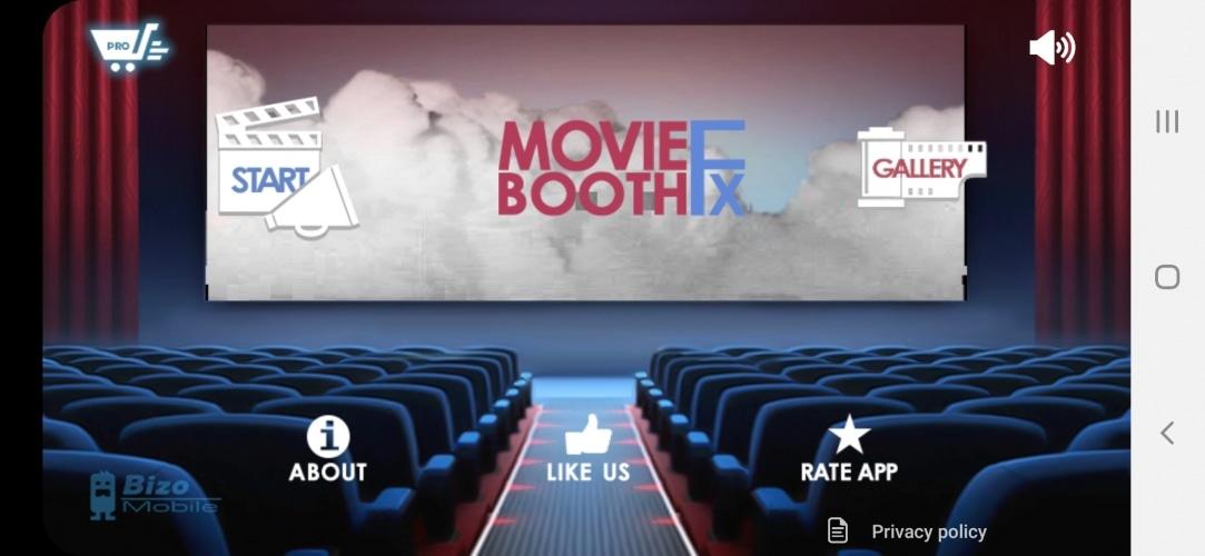 Movie Booth FX per inserire effetti speciali