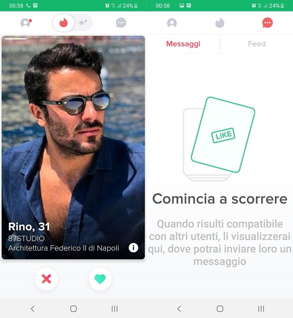 è Tinder un collegamento o dating app Velocità datazione Essen 2015