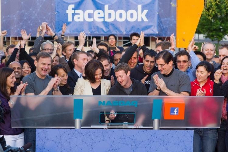 Facebook e l'approdo in borsa