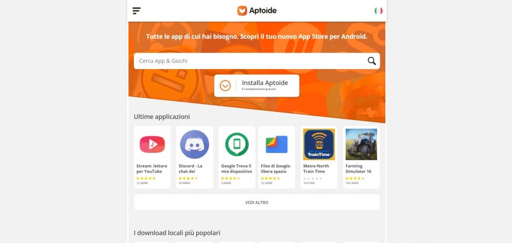 sicurezza Aptoide