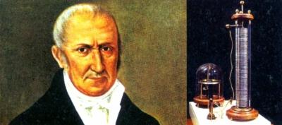 Alessandro Voltainventò la pila