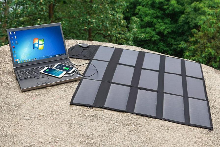 Power Bank solare per PC portatile