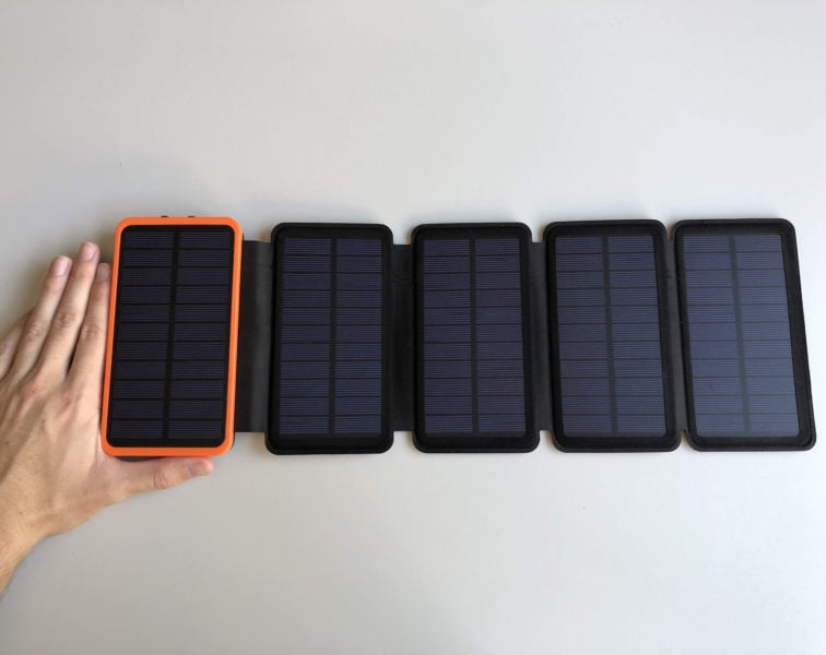 Power Bank solare per tablet