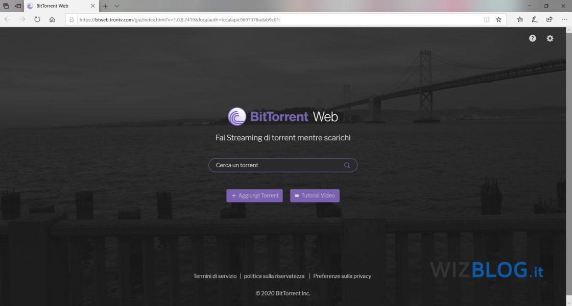 Cos'è BitTorrent Web e come funziona