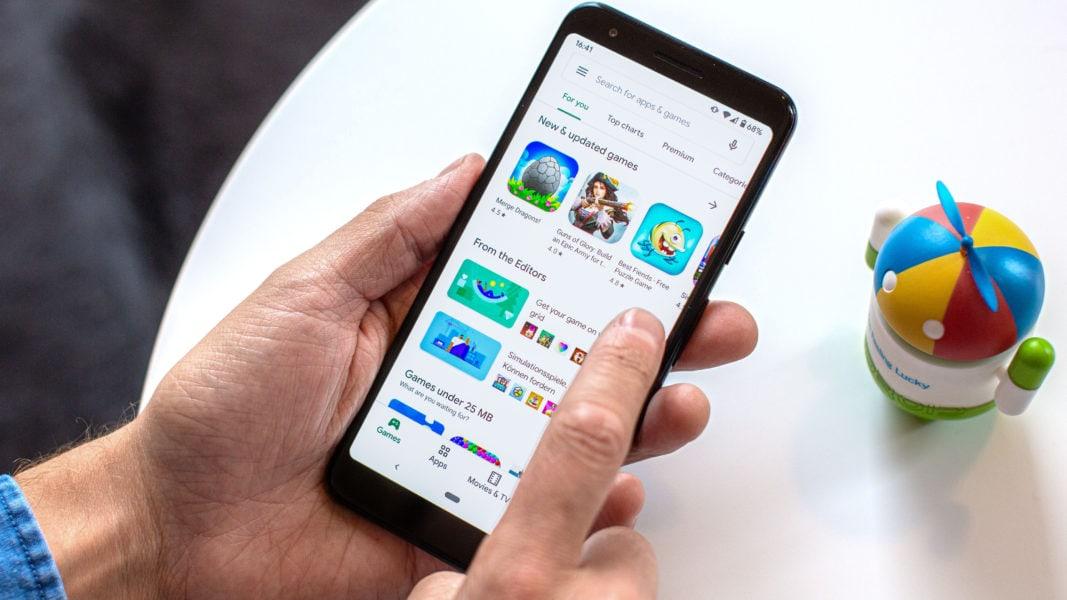 Google Play Store nessuna connessione