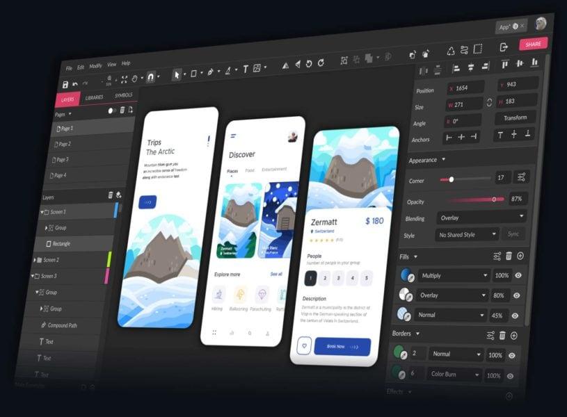 Gravit Designer sito web