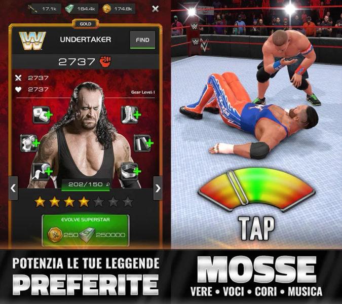 App WWE Universe