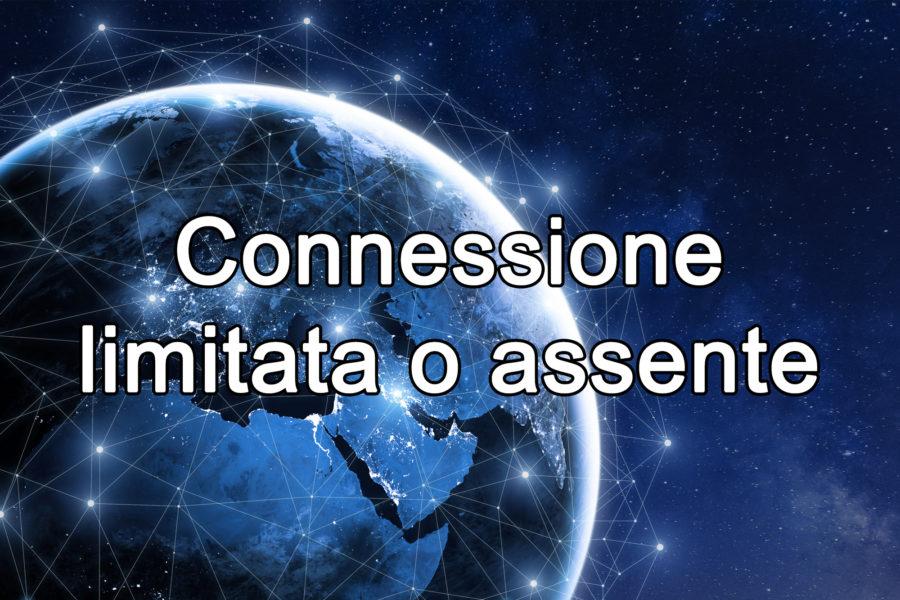 Cosa significa connessione limitata o assente